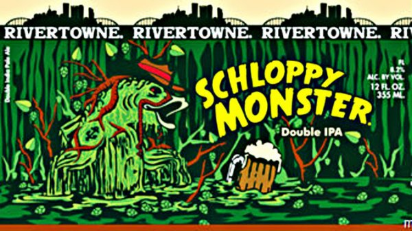 Review : Rivertowne Schloppy Monster Double IPA