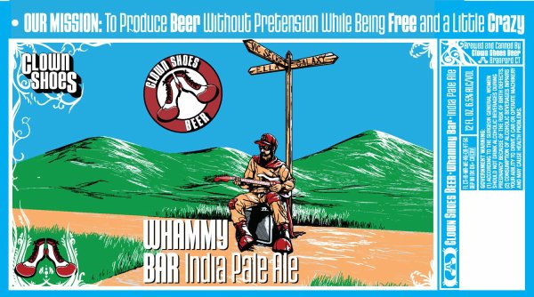 Review : Clown Shoes Whammy Bar IPA