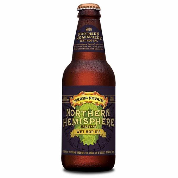Review : Sierra Nevada Harvest Wet Hop IPA - Northern Hemisphere