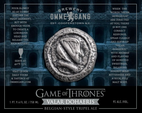 Review : Ommegang Game of Thrones #7 - Valar Dohaeris