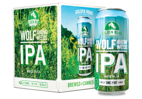 Review : Golden Road Wolf Among Weeds IPA
