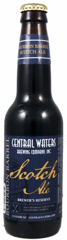 Review : Central Waters Brewer's Reserve Bourbon Barrel Scotch Ale