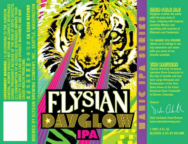 Review : Elysian Dayglow IPA
