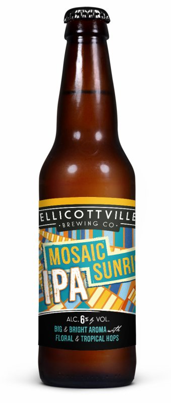 Review : Ellicottville Mosaic Sunrise IPA