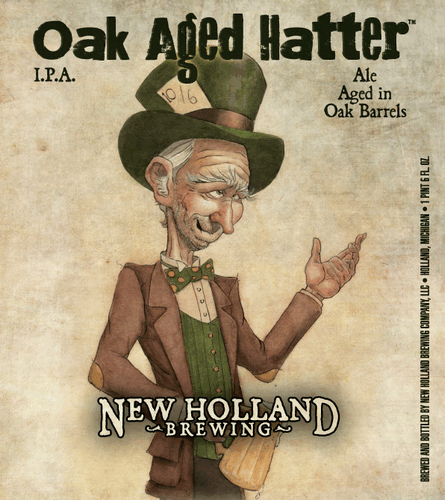 Review : New Holland Oak Aged Hatter IPA