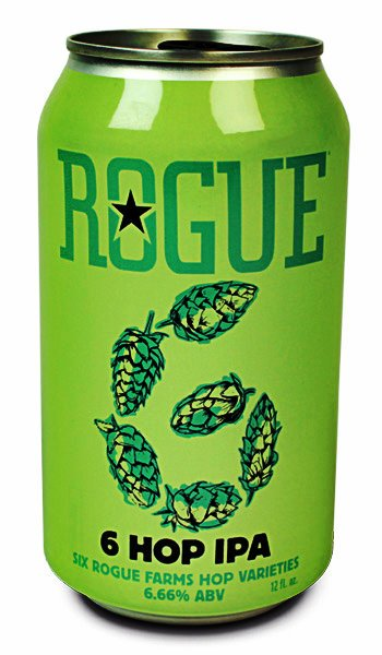 Review : Rogue Farms 6 Hop IPA