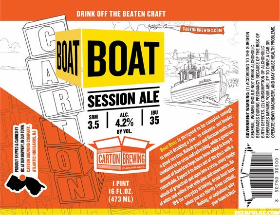 Review : Carton Boat Session Ale