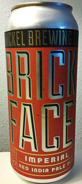 Review : Double Nickel Brickface Imperial Red IPA