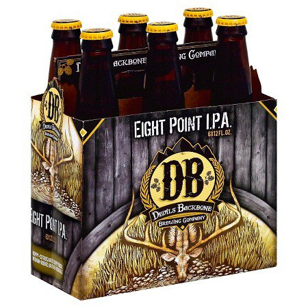 Review : Devils Backbone Eight Point IPA