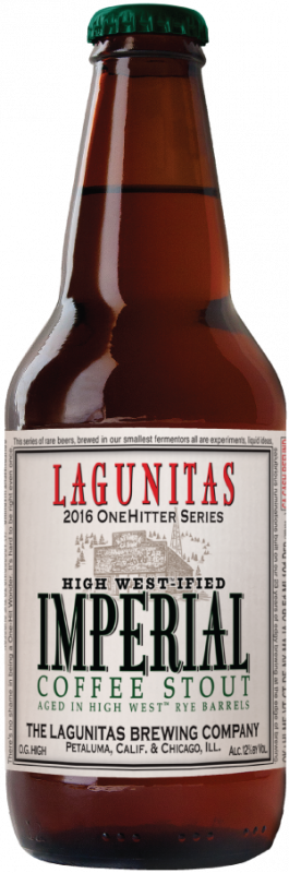 Review : Lagunitas High West-ified Imperial Coffee Stout
