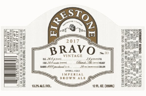 Review : Firestone Walker Bravo 2017