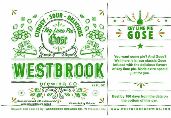 Review : Westbrook Key Lime Pie Gose