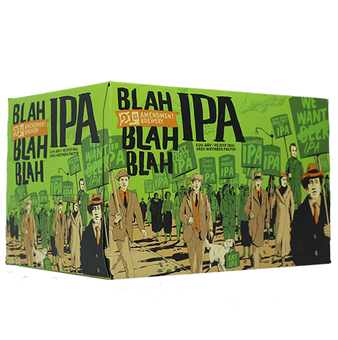 Review : 21st Amendment Blah Blah Blah IPA