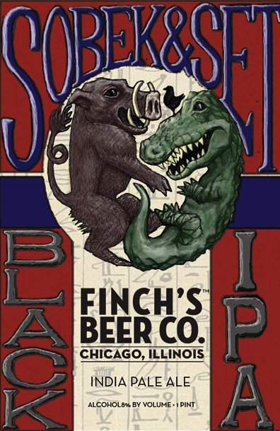 Review : Finch Sobek & Set a Black IPA