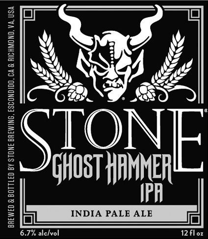 Review :  Stone Ghost Hammer IPA