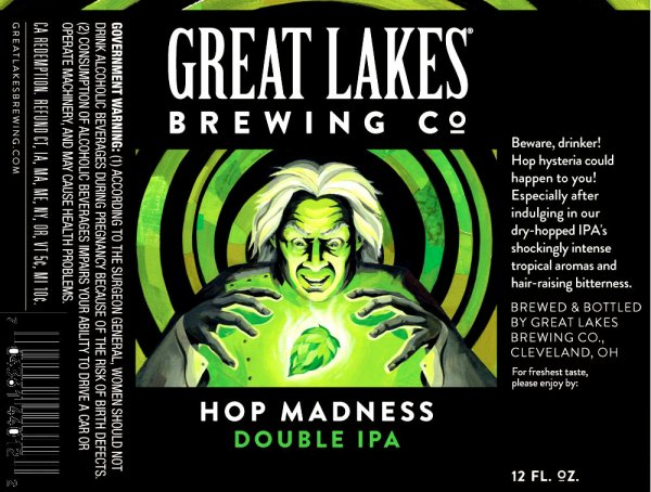 Review :  Great Lakes Hop Madness