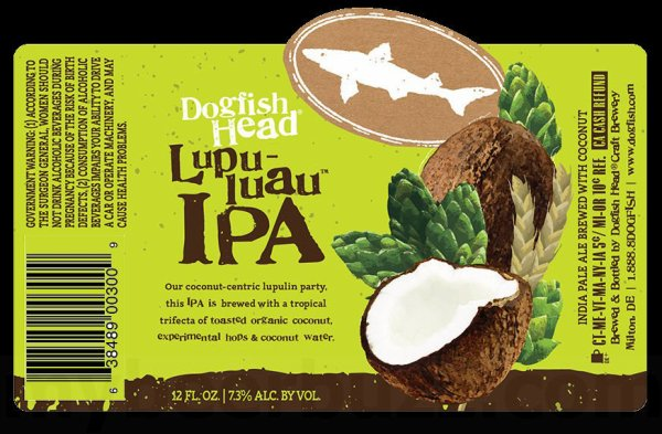 Review: Dogfish Head Lupu-luaü IPA