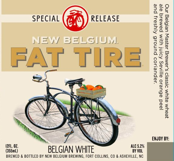 Review: New Belgium Fat Tire Belgian White