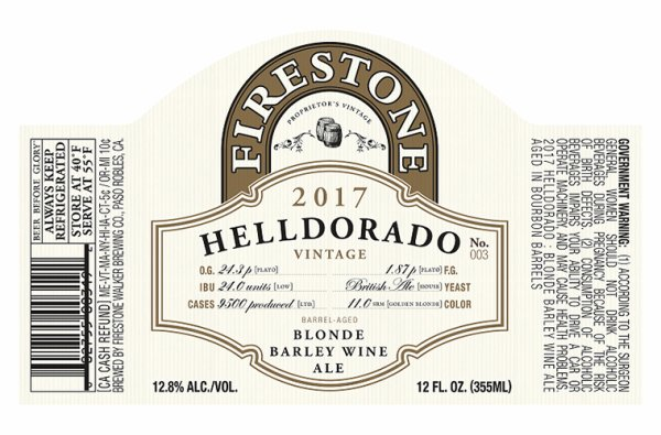 Review: Firestone Walker Helldorado 2017