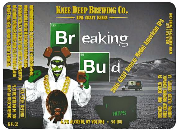 Review: Knee Deep Breaking Bud IPA