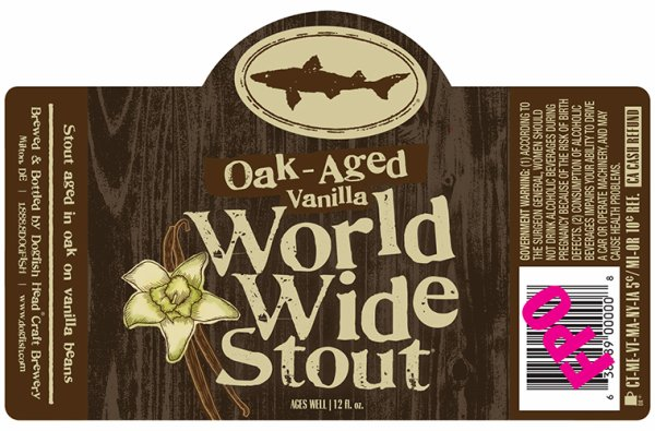 Review: Dogfish Head Oak-Aged Vanilla World Wide Stout