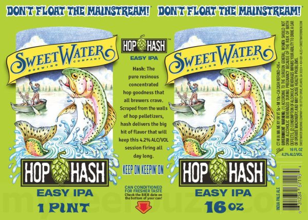 Review: Sweetwater Hop Hash Easy IPA