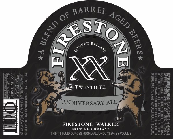 Review: Firestone Walker 20 (XX Twentieth Anniversary Ale