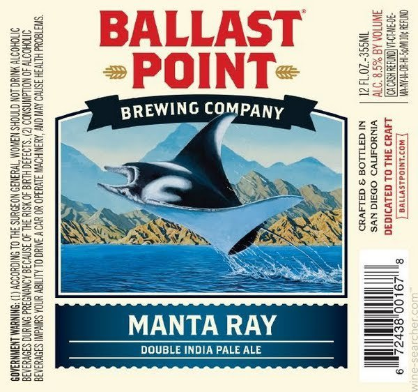 Review: Ballast Point Manta Ray