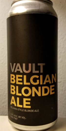 Review: Vault Belgian Blonde