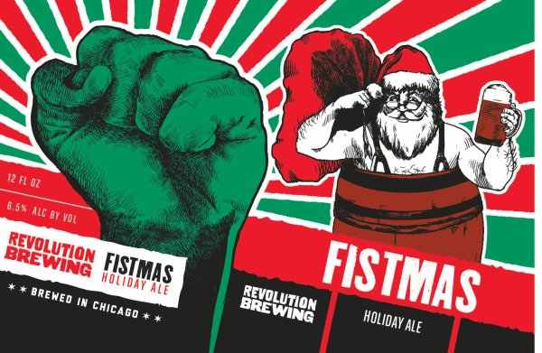 Review: Revolution Fistmas Ale