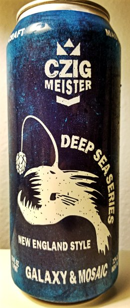 Review: Czig Meister Deep Sea Series - NE Style IPA