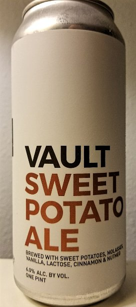 Review: Vault Sweet Potato Ale