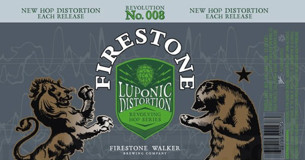 Review: Firestone Walker Luponic Distortion Revolution No. 008
