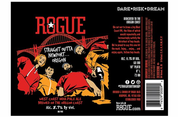 Review: Rogue Ales Straight Outta Newport