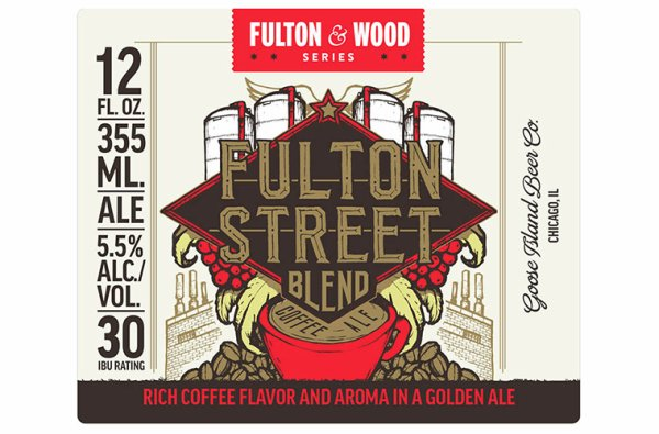 Review: Goose Island Fulton St. Blend Coffee Ale