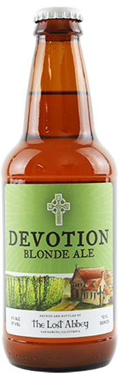 Review:  The Lost Abbey Devotion Ale