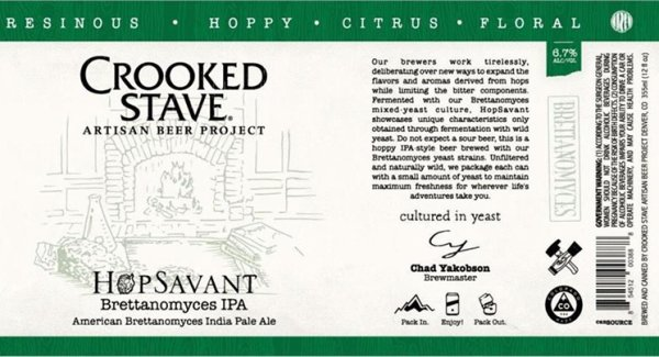 Review: Crooked Stave Hop Savant