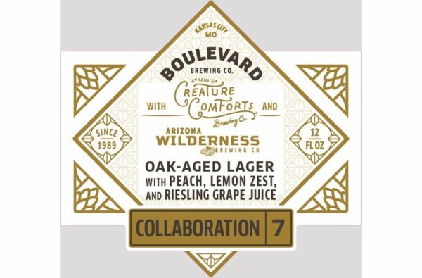 Review: Boulevard - AZ Wilderness - Creature Comforts Collaboration No. 7 Oak-Aged Lager