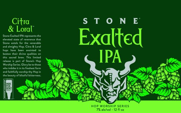 Review: Stone Exalted IPA
