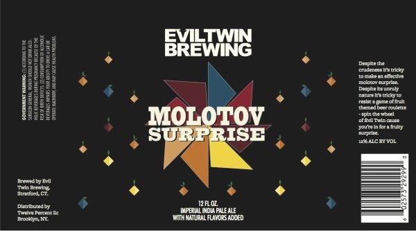 Review: Evil Twin Molotov Surprise (Batch #003 Peach)