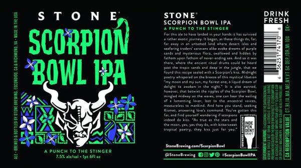 Review: Stone Scorpion Bowl IPA