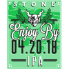 Review: Stone Enjoy By 4.20.18 IPA
