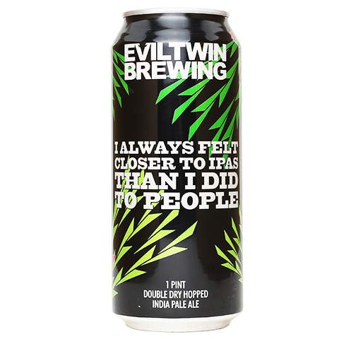Review: Evil Twin I Always Felt Closer to IPAs Than I Did to People (Double Dry-Hopped)