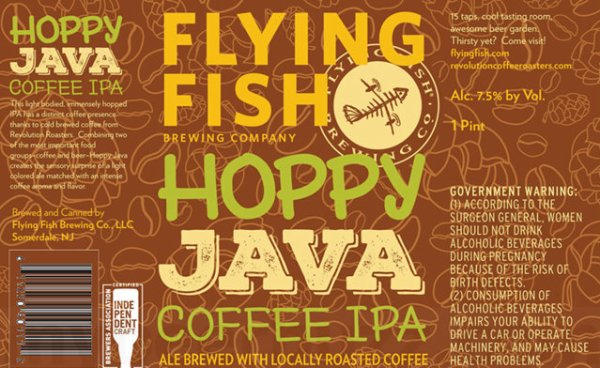 Review: Flying Fish Hoppy Java Coffee IPA