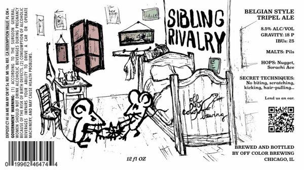Review: Off Color Sibling Rivalry