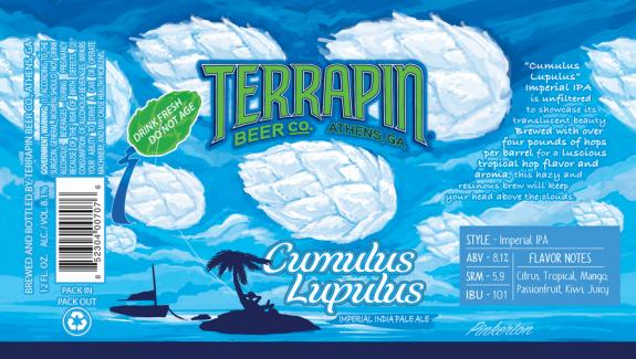 Review: Terrapin Cumulus Lupulus