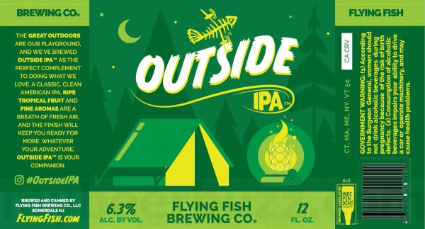 Review: Flying Fish Outside IPA