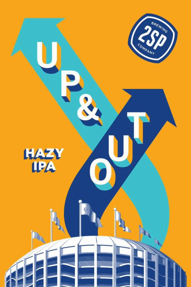 Review: 2SP Up & Out IPA