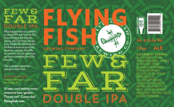 Review: Flying Fish Few & Far Double IPA