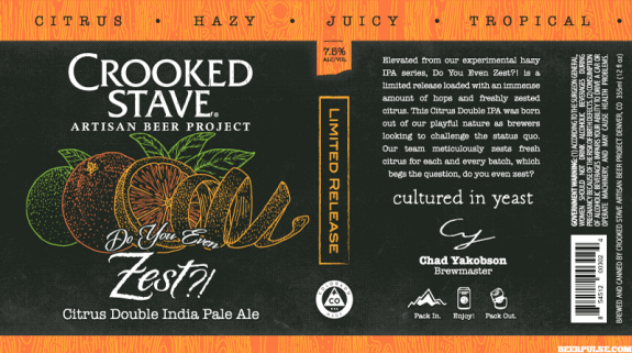 Review: Crooked Stave Do You Even Zest